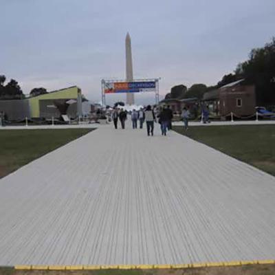 Rola-trac walkway